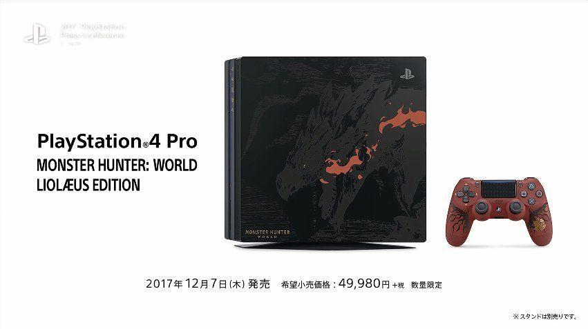 PS4 Pro Monster Hunter World