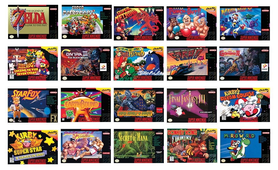 Analisis De Classic Mini Super Nintendo Con 21 Juegos De 16 Bits