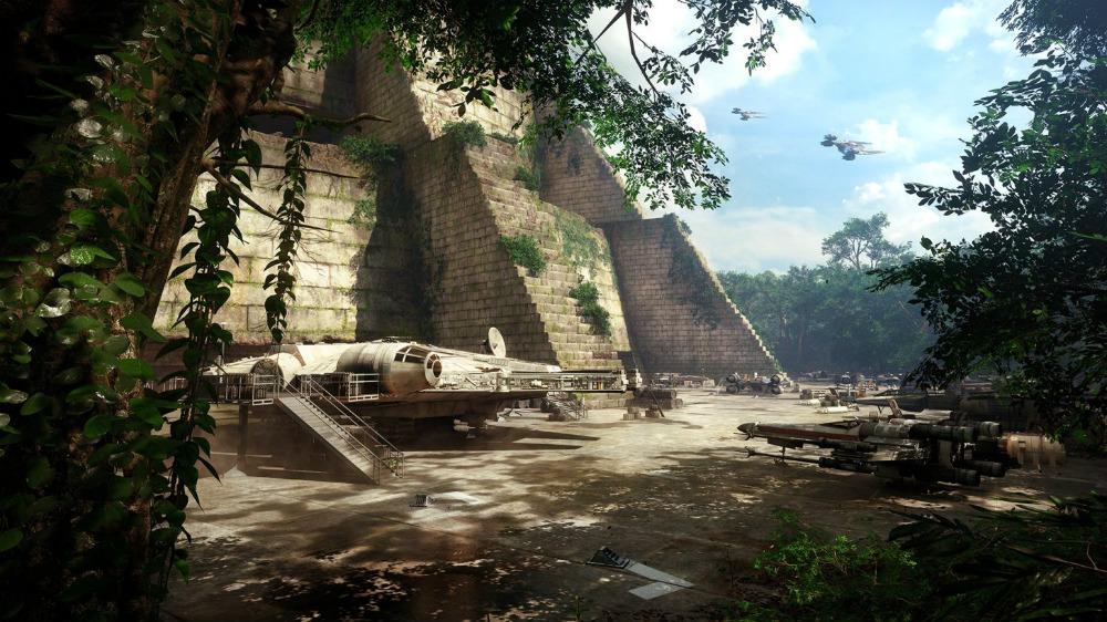 Star Wars Battlefront 2 Yavin IV