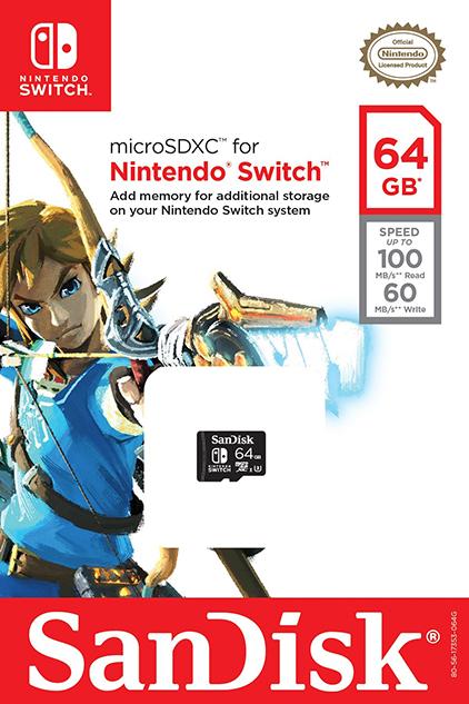Tarjetas microSD Nintendo Switch