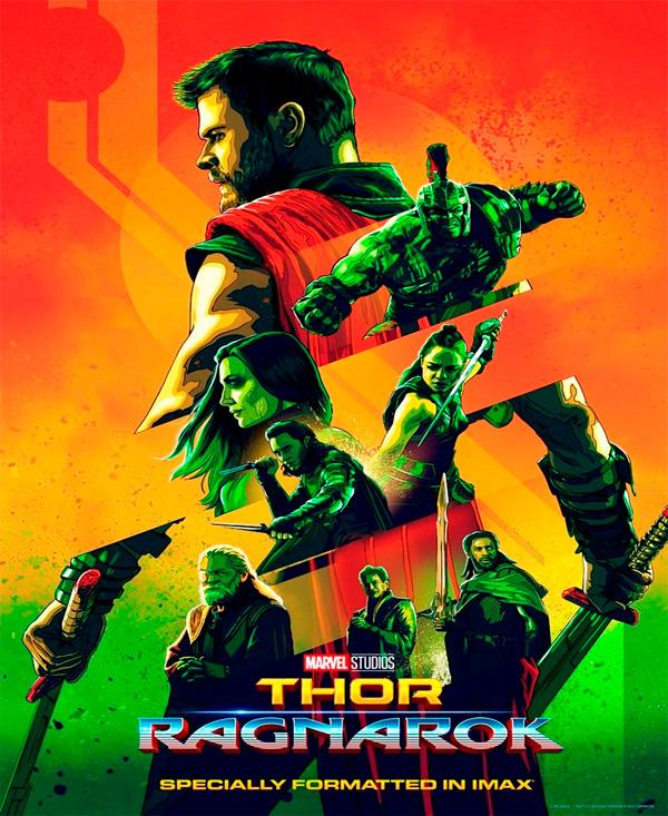 Thor: Ragnarok póster IMAX
