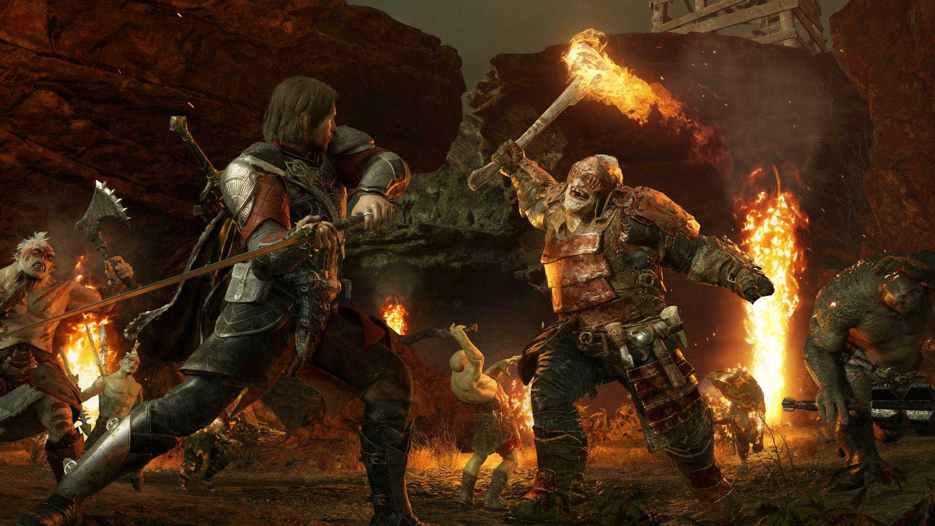 La Tierra Media Sombras de Guerra PS4 Xbox One y PC