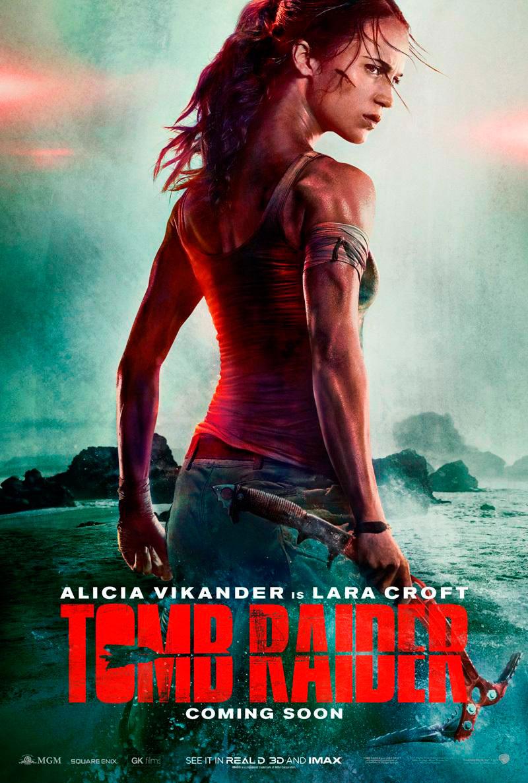 Tomb Raider 2017 póster