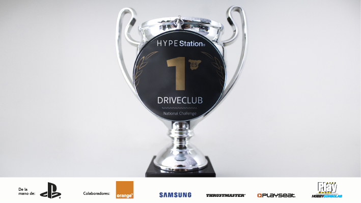 Trofeo Driveclub HYPE Station