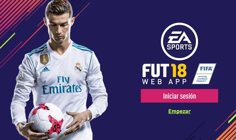 Fifa 18 Webapp