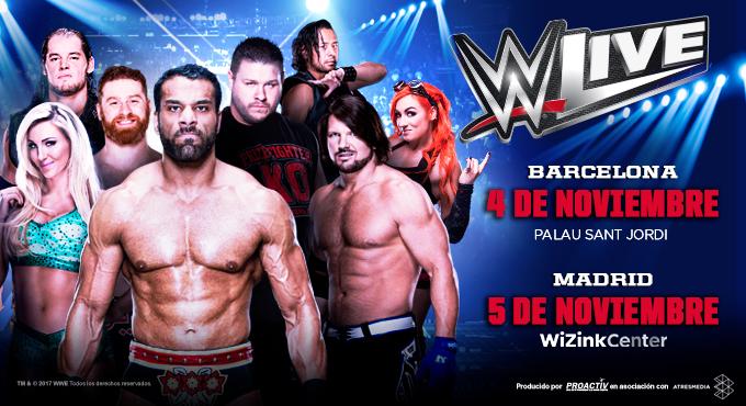 WWE España - Barcelona y Madrid