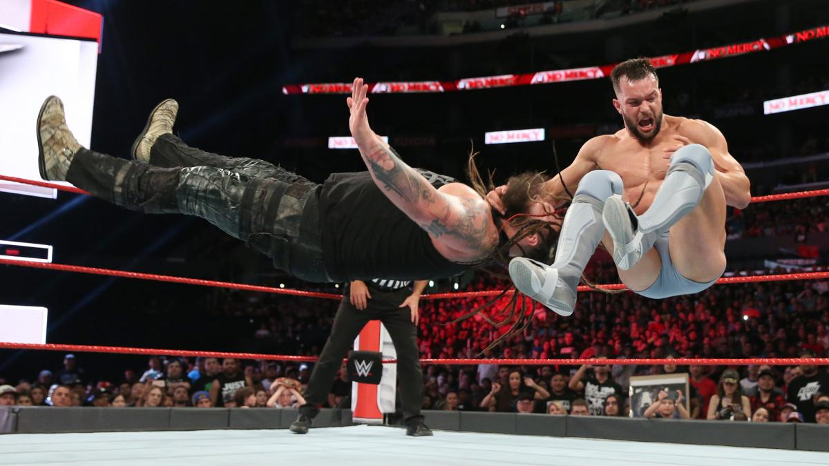 WWE No Mercy 2017 - Bray Wyatt vs. Finn Bálor