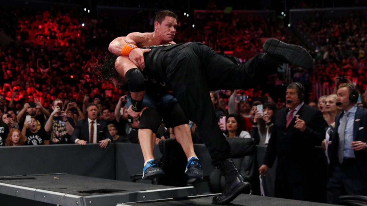 WWE No Mercy 2017 - John Cena vs Roman Reigns