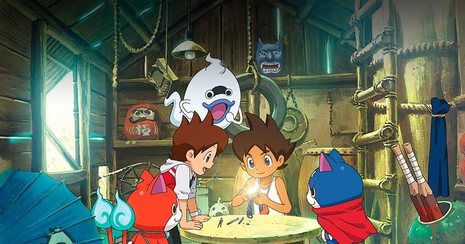 Yo-Kai Watch 2 Mentespectros anime