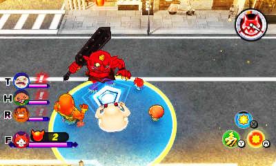 Yo-Kai Watch 2 Mentespectros blasters