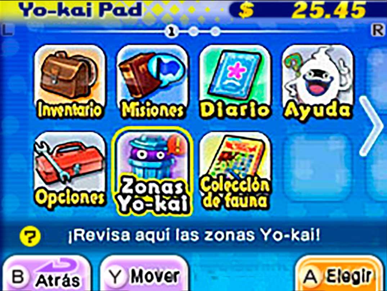 Yo-Kai Watch 2 Mentespectros pad