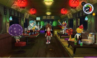 Yo-Kai Watch 2 Mentespectros tren
