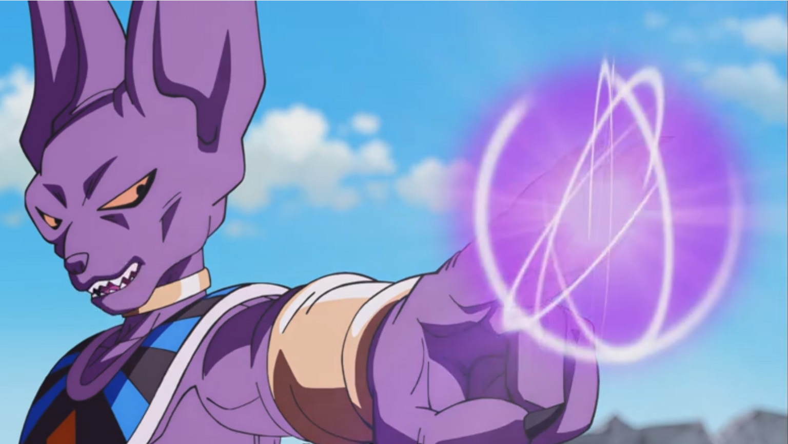 Beerus en Dragon ball Super