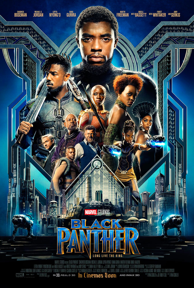 Black Panther póster oficial