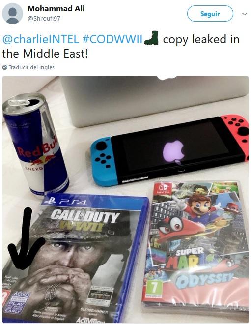 Call of Duty WWII a la venta antes de tiempo