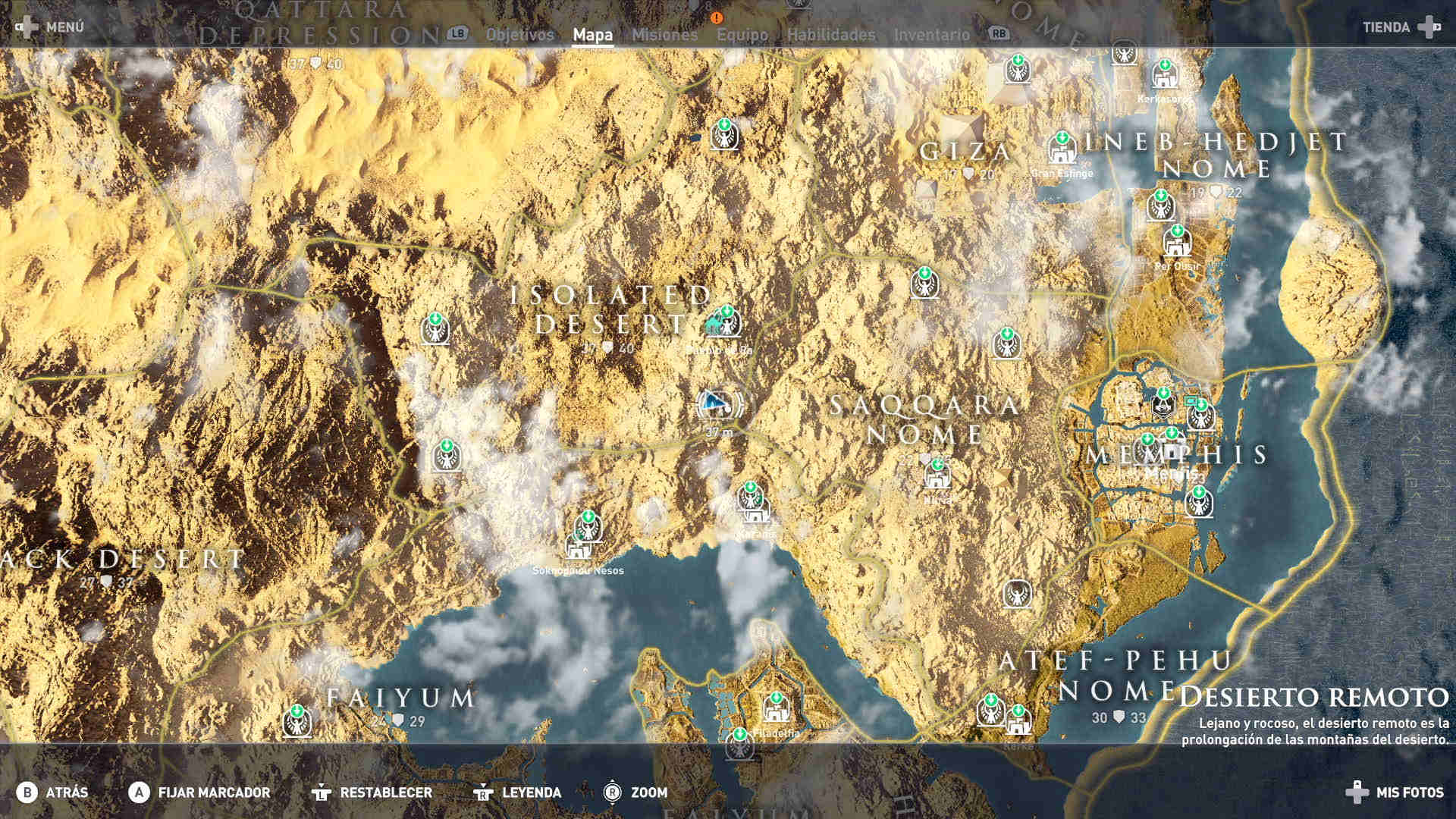 Assassins Creed Origins Círculos de piedras