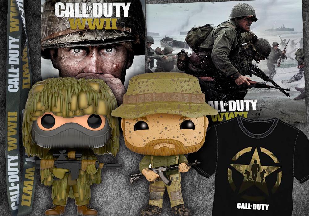 Concurso Call of Duty WWII premios