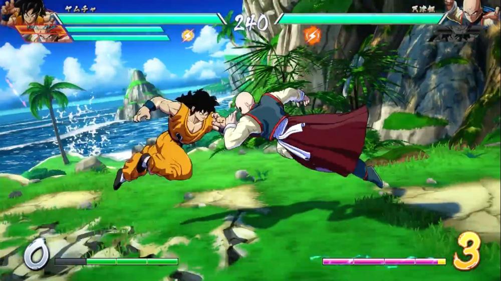 Dragon Ball FighterZ - Isla Amenbo
