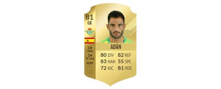 FIFA 18 - Adán