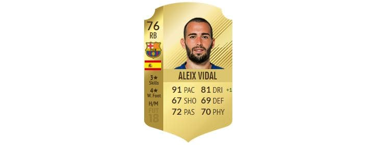 FIFA 18 - Alexis Vidal