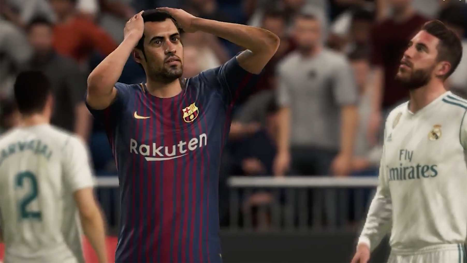FIFA 18 Barcelona