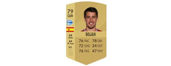 FIFA 18 - Bojan