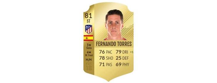 FIFA 18 - Fernando Torres
