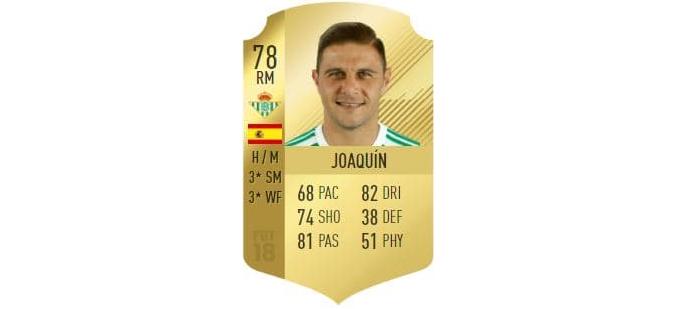 FIFA 18 - Joaquín