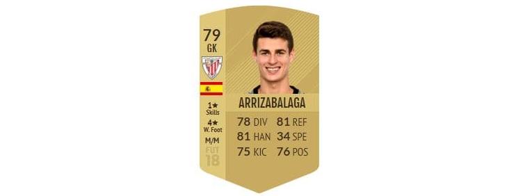 FIFA 18 - Kepa