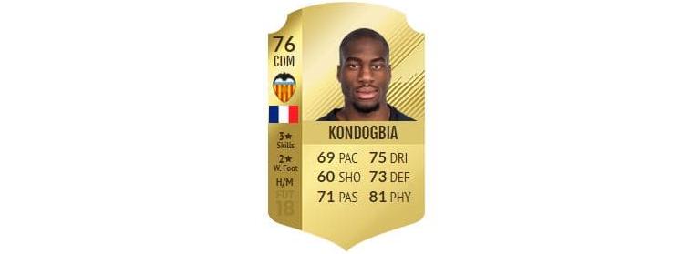 FIFA 18 - Kondogbia