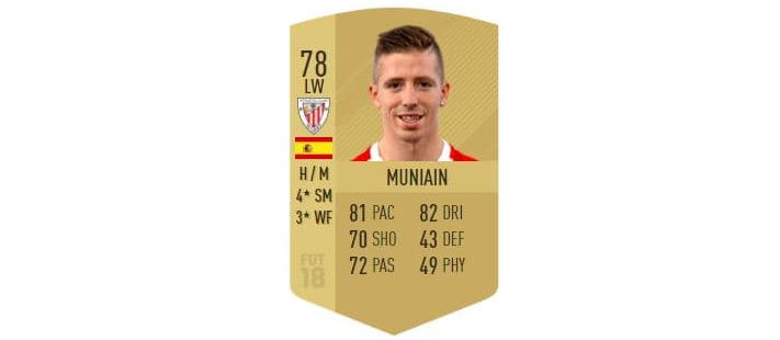 FIFA 18 - Muniain