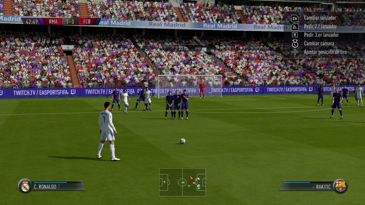 Imágenes de FIFA 18 para Nintendo Switch