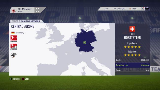 FIFA 18 ojeadores