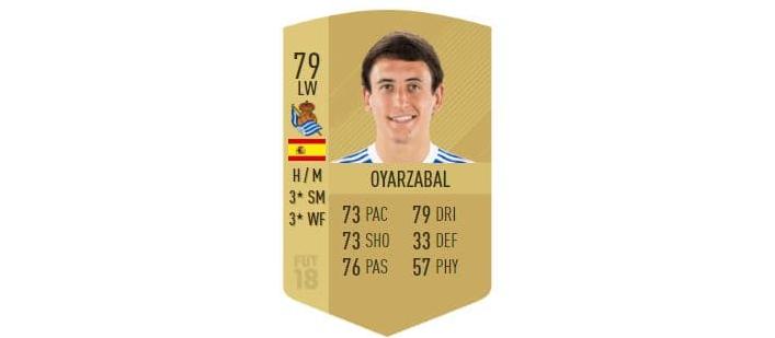 FIFA 18 - Oyarzabal