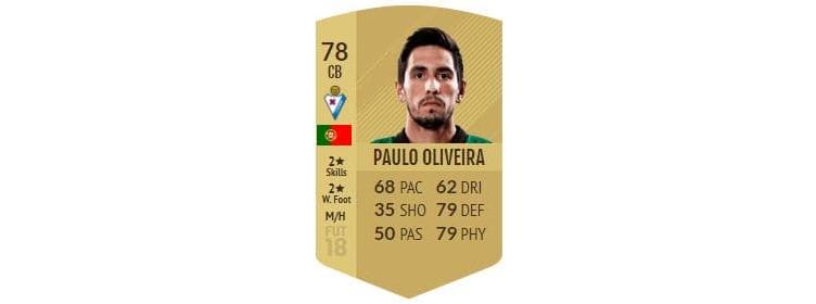 FIFA 18 - Paulo Oliveira