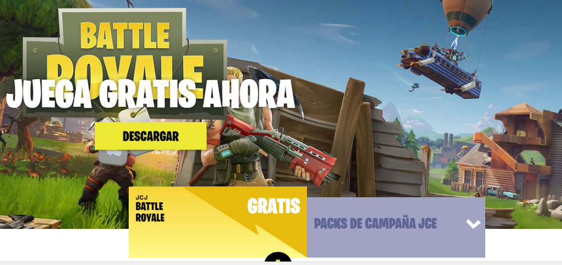 Fortnite para ps4 es gratis