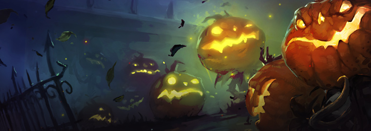 Halloween en Hearthstone