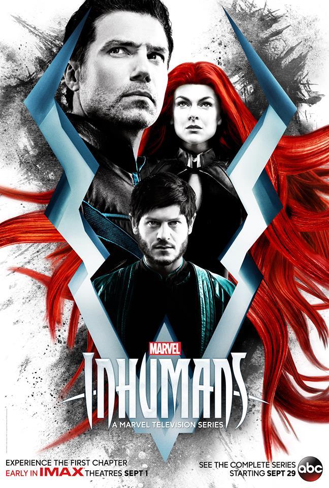 Inhumanos - Poster