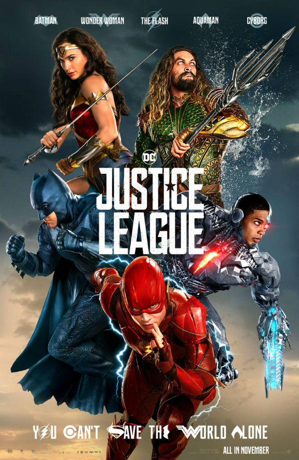 Liga de la Justicia póster