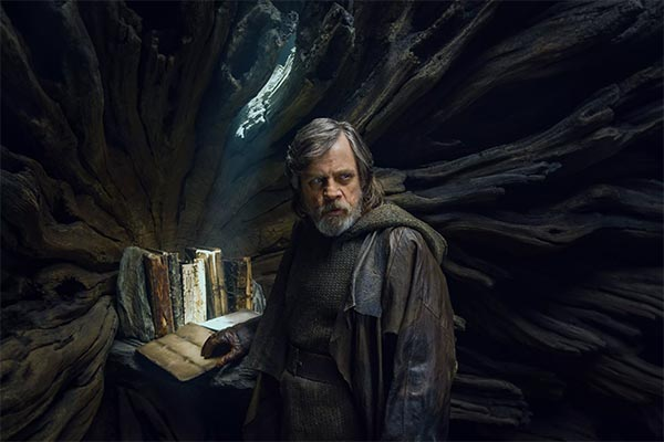 Luke Skywalker en Star Wars: Los últimos Jedi