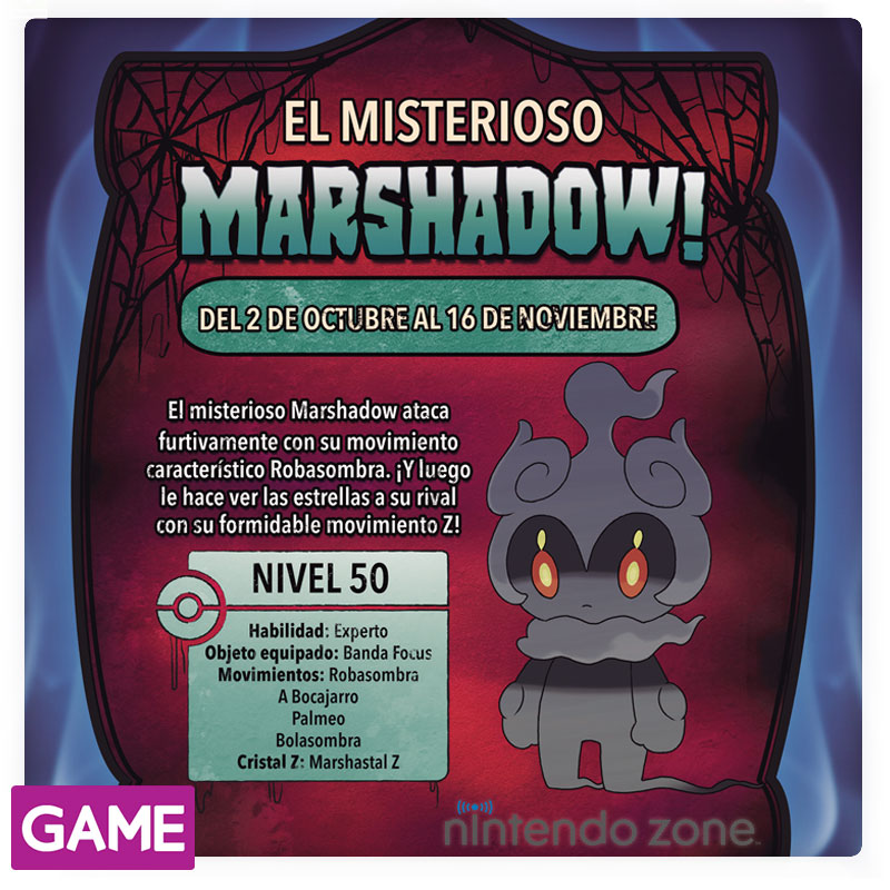 Marshadow GAME