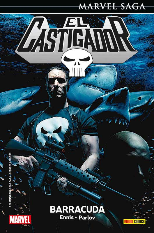 Marvel Saga Punisher 7: Barracuda