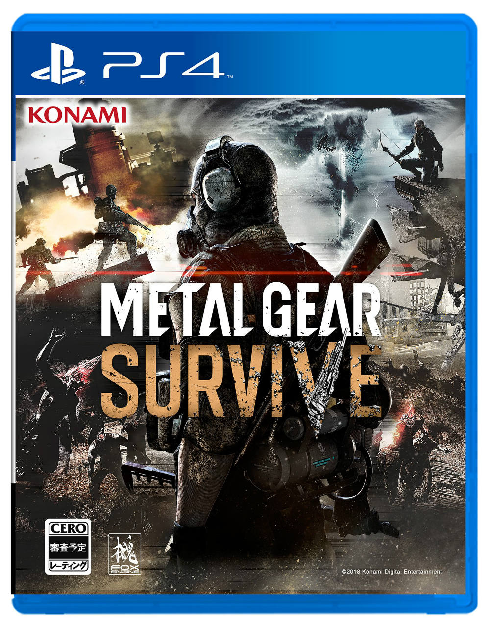 Metal Gear Survive - Caja PS4