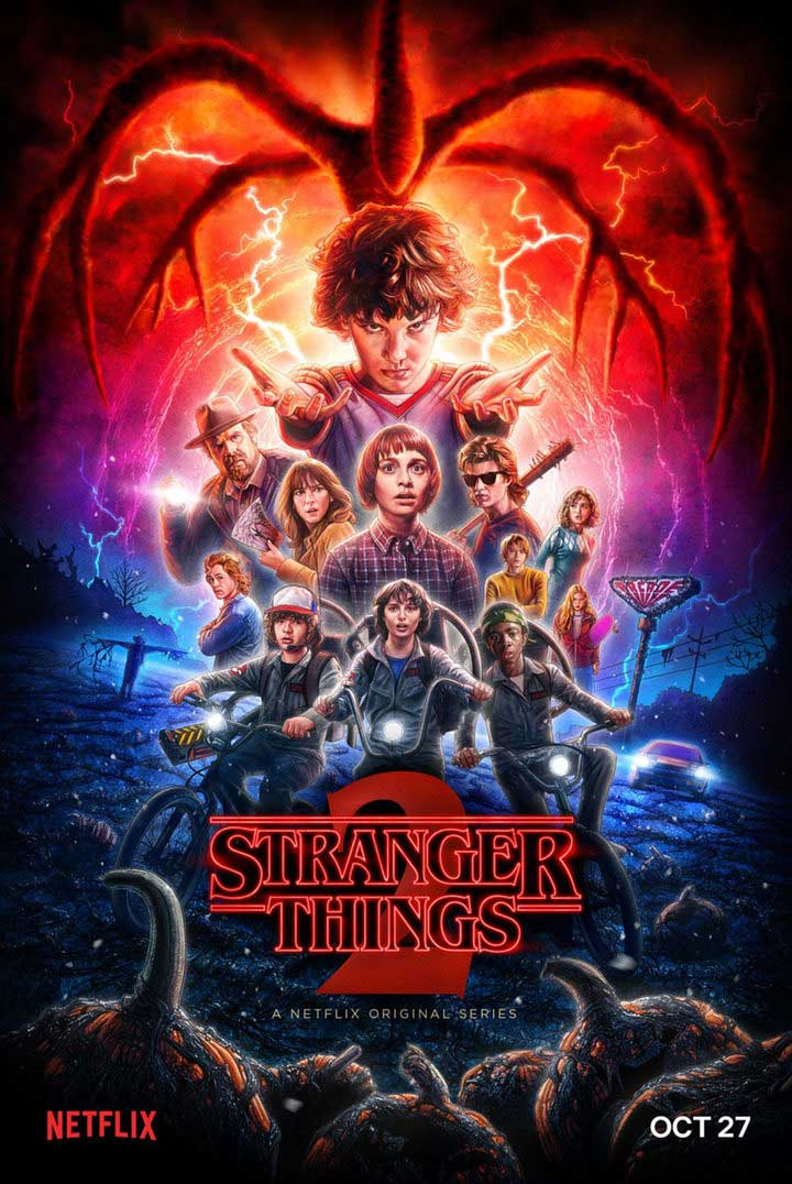 Poster final Stranger Things 2