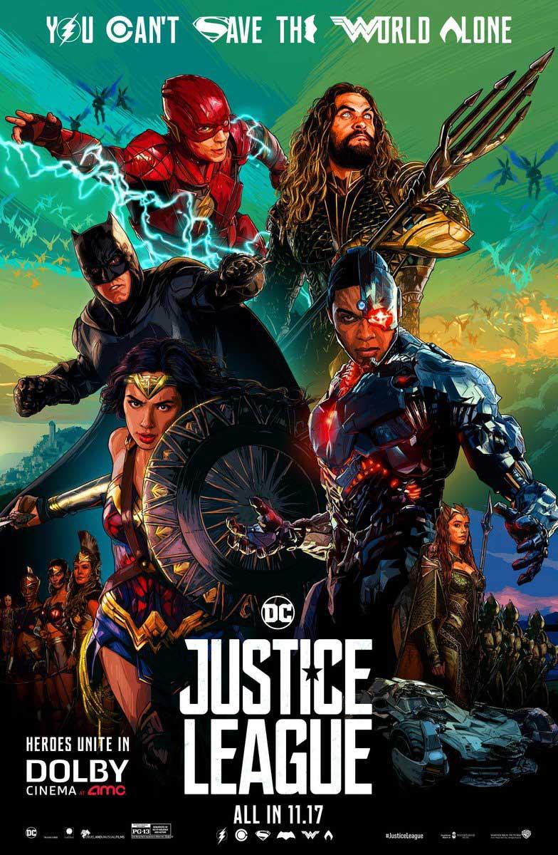 Póster Liga de la Justicia Dolby
