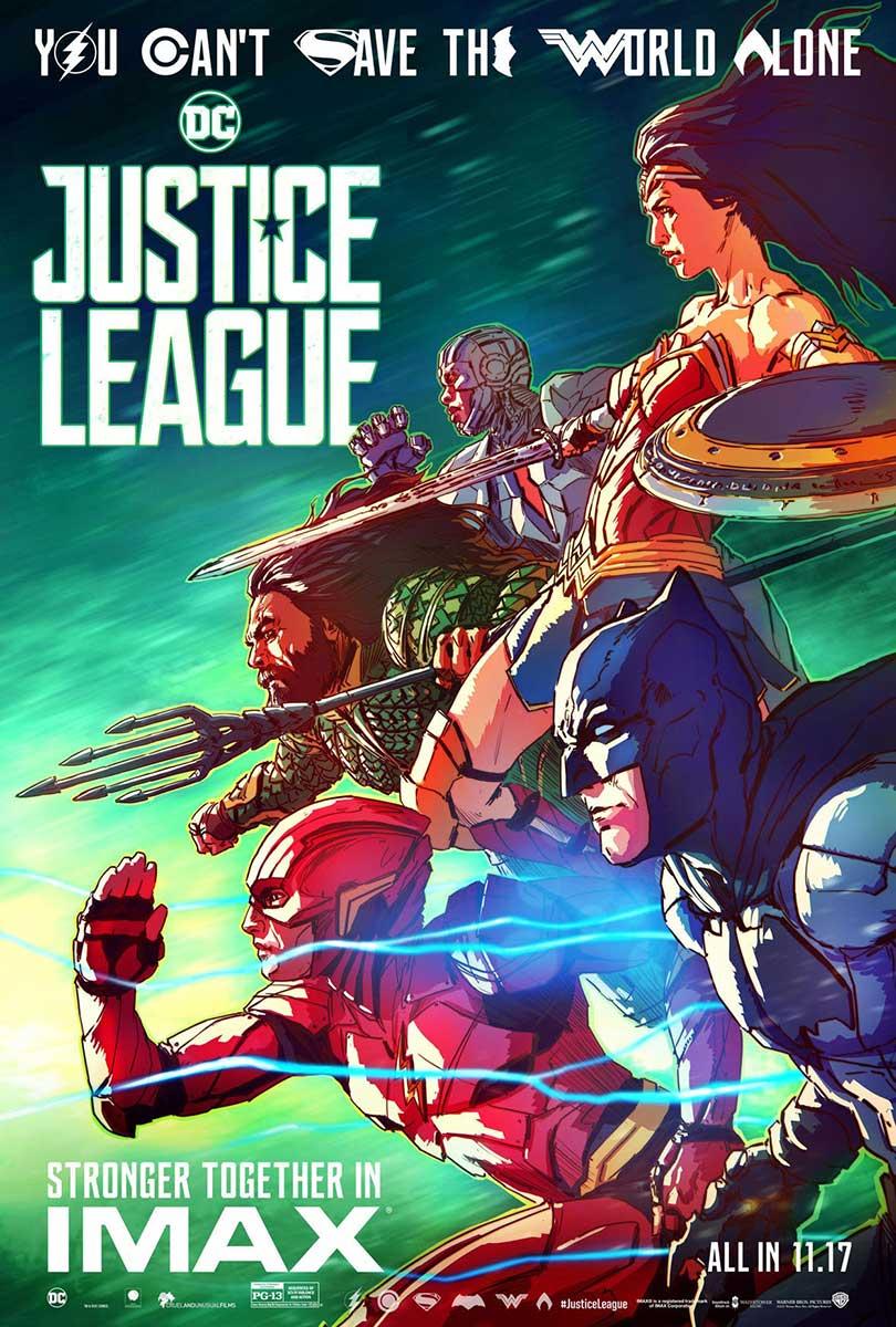 Póster Liga de la Justicia IMAX