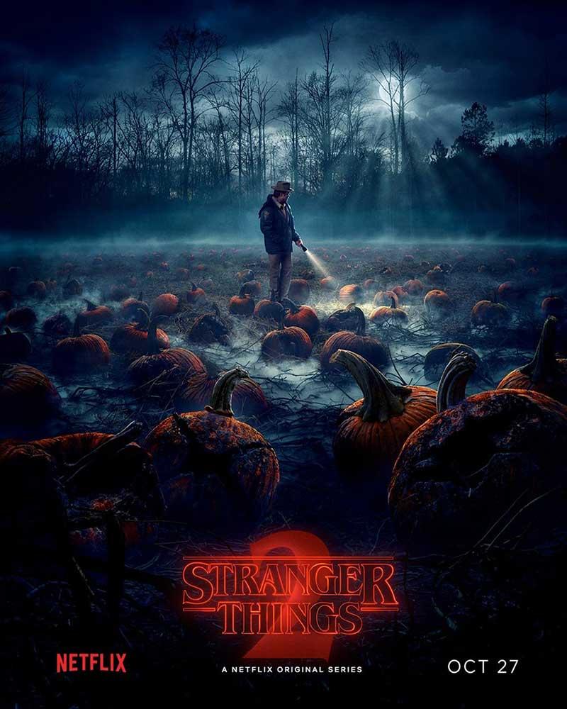 Póster Stranger Things 2 Halloween