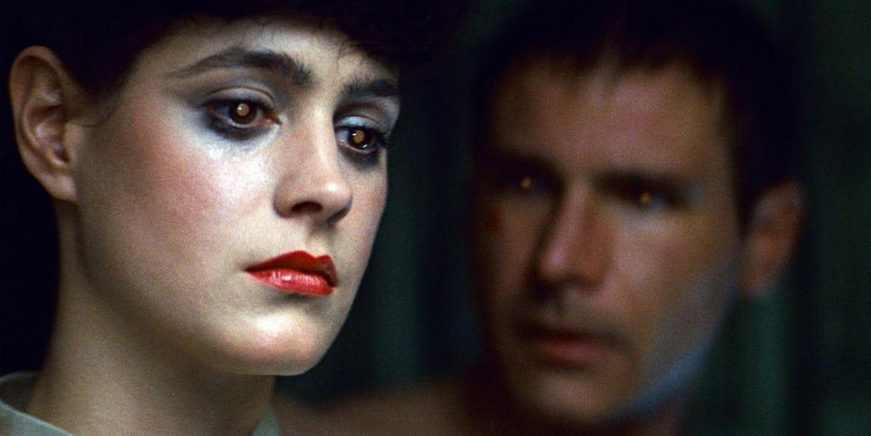 Rachael y Deckard en Blade Runner