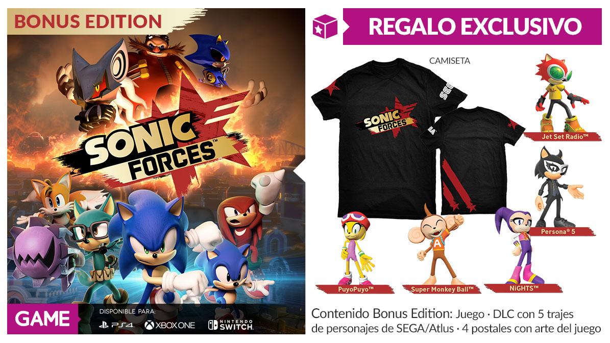 Sonic Forces en GAME