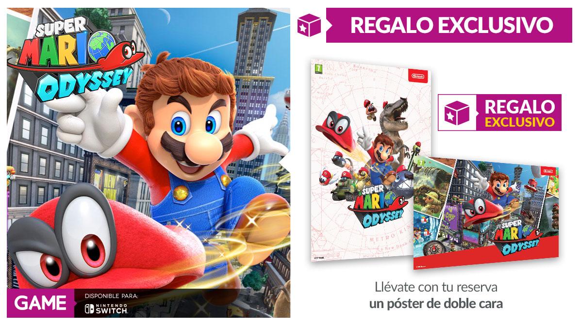Super Mario Odyssey en GAME